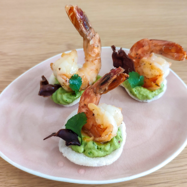 Shrimp Amuse-Bouches