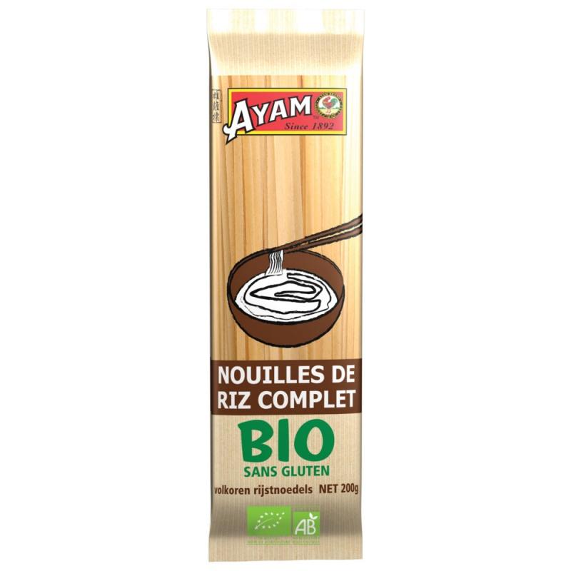 macarrão de arroz de grãos inteiros orgânicos-200g-1_6366394
