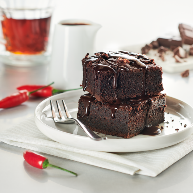 Chocolate and Sriracha Brownie